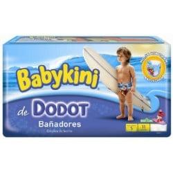 Maillot de bain - Pack 11 Couches de bains Dodot taille 5 sur Couches Zone