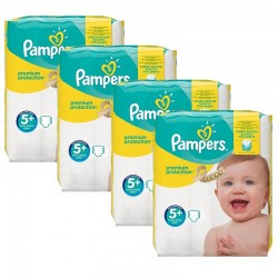 Giga Pack 160 Couches Pampers Premium Protection - New Baby taille 5+ sur Couches Zone