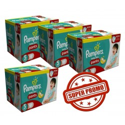 Baby Dry Pants - Giga Pack Jumeaux 252 Couches Pampers taille 5 sur Couches Zone