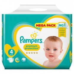 Pack 39 Couches Pampers New Baby - Premium Protection taille 4 sur Couches Zone