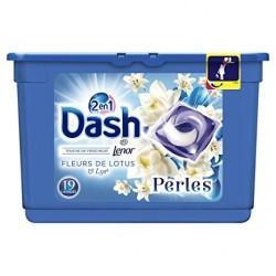 Dash Perles 19 Fleurs de Lotus & Lys 2en1 (501,6 gr) sur Couches Zone