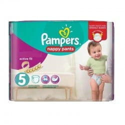 Pack 30 Couches Pampers Active Fit Pants taille 5