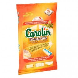 Carolin Serpillières 15 pièces spécial parquets sur Couches Zone