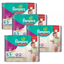 Maxi Giga Pack 330 couches Pampers Active Fit sur Couches Zone