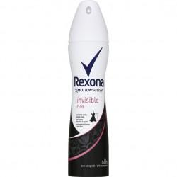 Deodorant Rexona Motion Sense Invisible Pure sur Couches Zone