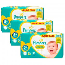 Giga Pack 135 couches Pampers New Baby Premium Protection
