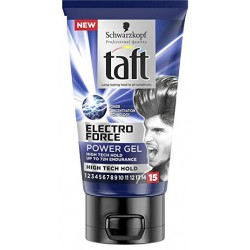 Taft Gel 150 ml Electro Force N°15 sur Couches Zone