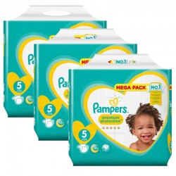 Giga Pack 210 Couches Pampers New Baby - Premium Protection taille 5