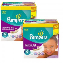 Giga Pack 240 Couches Pampers Active Fit Premiun Protection sur Couches Zone