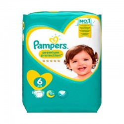 Pack 56 Couches Pampers New Baby - Premium Protection taille 6 sur Couches Zone