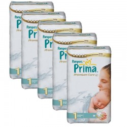 Giga Pack 154 couches Pampers Premium Care Prima sur Couches Zone