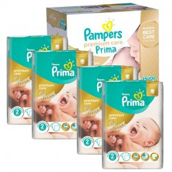 Maxi Giga Pack 440 Couches Pampers Premium Care - Prima taille 2 sur Couches Zone