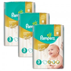 Giga Pack 180 Couches Pampers Premium Care Prima sur Couches Zone