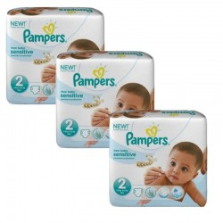 Giga Pack 180 couches Pampers New Baby Sensitive sur Couches Zone