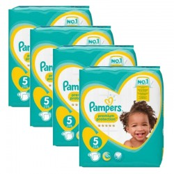 Maxi Pack 240 Couches Pampers new baby - premium protection sur Couches Zone