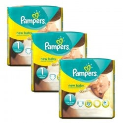 Pack 69 couches Pampers New Baby Premium Protection sur Couches Zone