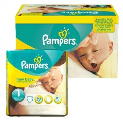 Giga Pack 92 couches Pampers New Baby Premium Protection sur Couches Zone