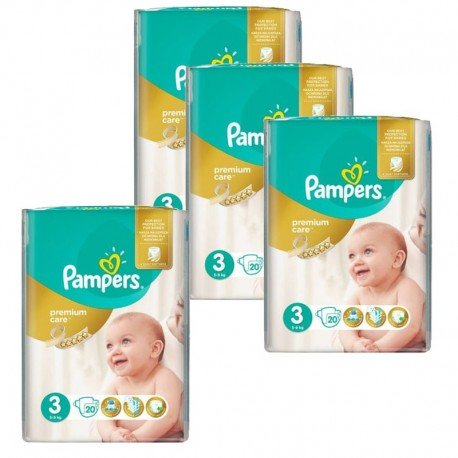 Pack 100 Couches Pampers Premium Care Prima sur Couches Zone