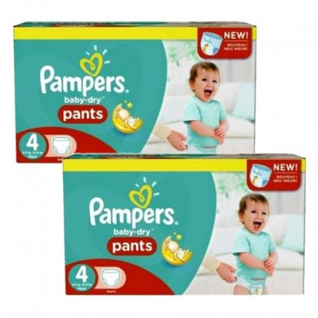 Pack Jumeaux 564 couches Pampers Baby Dry Pants sur Couches Zone