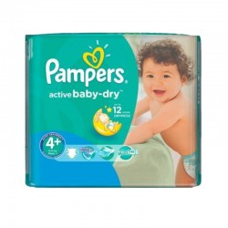 Pack 70 couches Pampers Active Baby Dry
