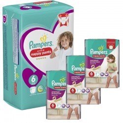 Maxi Giga Pack 140 Couches Pampers Active Fit Pants sur Couches Zone
