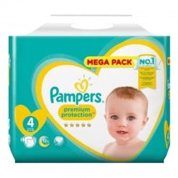 Pack 82 Couches Pampers New Baby Premium Protection