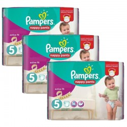 Mega Pack 120 Couches Pampers Active Fit Pants sur Couches Zone