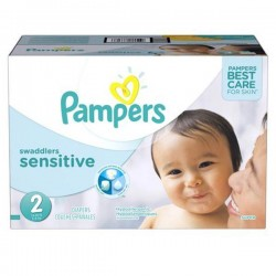Giga pack 240 Couches Pampers New Baby Sensitive