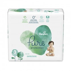 Pack 22 Couches Pampers Pure Protection taille 3 sur Couches Zone