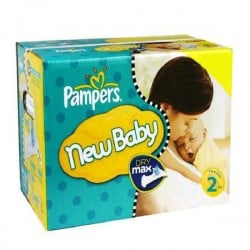 Giga pack 217 Couches Pampers New Baby Premium Protection taille 2 sur Couches Zone