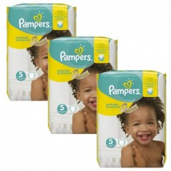 Pack 90 Couches Pampers New Baby Premium Protection taille 5 sur Couches Zone