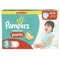 Mega pack 104 Couches Pampers Baby Dry Pants taille 5